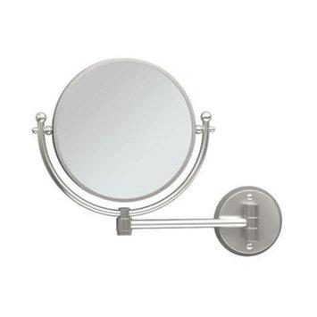 Gatco Cosmetic 14 in. x 11 in. Framed Wall Mirror in Satin Nickel