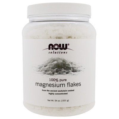NOW Foods Solutions Magnesium Flakes -- 54 oz