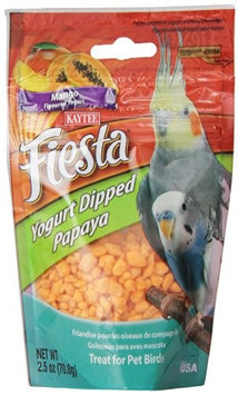 Kaytee Fiesta Mango Flavored Yogurt Dipped Papaya Bird Treat
