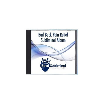 Bad Back Pain Relief Subliminal CD