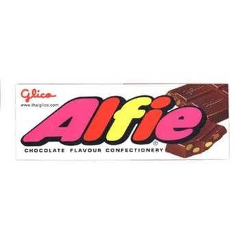 Glico Alfie Chocolate Bar Confectionery Candy Snack