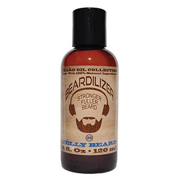 Beardilizer Beard Oil Collection - #22 Jelly Beard 4 Oz - Made with 100% Natural Ingredients