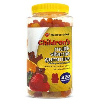 Member's Mark Children's Multi-Vitamin Gummies, 320 Count