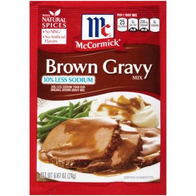 McCormick Brown, Less Sodium Mix, 0.87 OZ (Pack of 6)