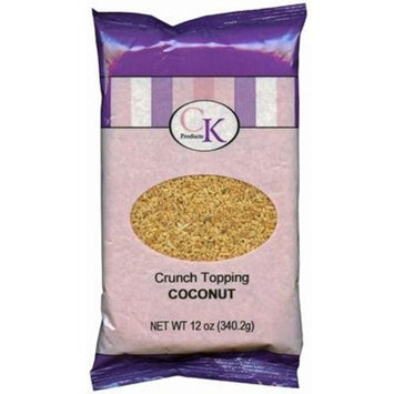 CK Products Crunch, Coconut, (Pack of 12)