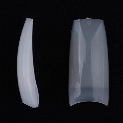 MAKARTT? 500pcs French Acrylic Europe Style False Nails fake Tips 10 Sizes