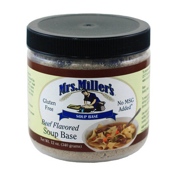Mrs. Miller's Beef Flavored Soup Base 12 oz. (3 Jars)
