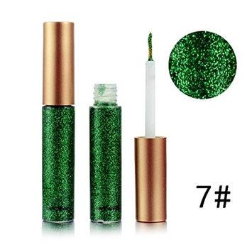 HP95(TM) Waterproof Glitter Liquid Eyeliner Metallic Shiny Smoky Eyes Eyeshadow