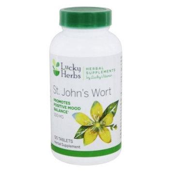 LuckyHerbs - St. John's Wort by LuckyVitamin 300 mg. - 120 Tablet(s)