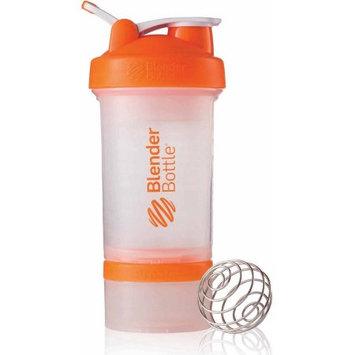 Blenderbottle Blender Bottle ProStak 22 oz. Shaker with Loop Top - Clear/Orange