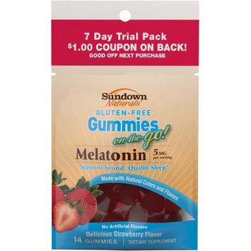 Us Nutrition Sundown Naturals Melatonin Gummies, 14 Ct