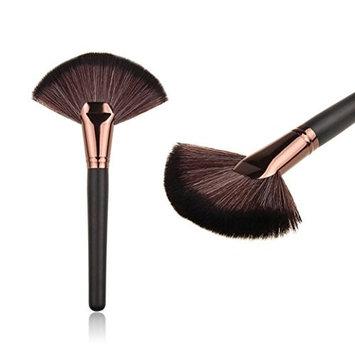 Makeup Brush Set,Neartime Beauty Large Fan Goat Hair Blush Face Foundation Cosmetic Brush