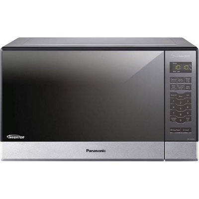 Panasonic NN-SN686S 1.2 Cu. Ft. 1200W Genius Sensor Countertop/Built-In Microwave Oven with Inverter Technology