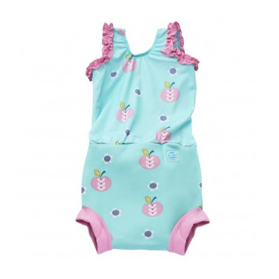 Splash About Happy Nappy Costume Lge 6-14 months Apple Daisy