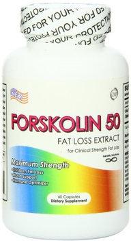 Genetic Solutions Llc 6280003 Forskolin 50 60 Capsules