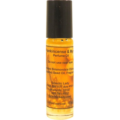 Eclectic Lady Frankincense And Myrrh Perfume Oil, Small