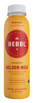 Rebbl, Organic Elixir, Turmeric Golden-Milk, 12 Fl Oz