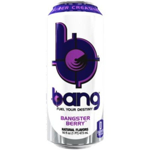 Bang - BANGSTER BERRY (12 Drinks) by VPX (Vital Pharmaceuticals) at the Vitamin Shoppe