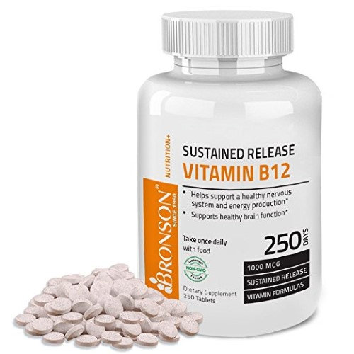 Bronson Vitamins Vitamin B-12 1000 mcg Sustained Release