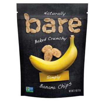 Bare Crunchy Banana Chips Plain 2.7 oz