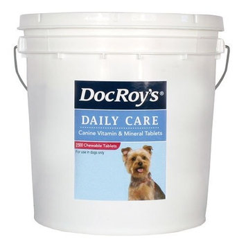 Revival Animal Health Doc Roys Daily Care Canine Tabs 2500ct