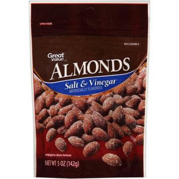 Wal-mart Stores, Inc. Great Value Salt & Vinegar Almonds, 5 oz