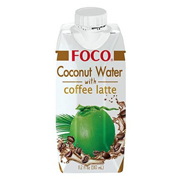 FOCO Coconut Water with Coffee Latte 11.2 oz (pack of 12)