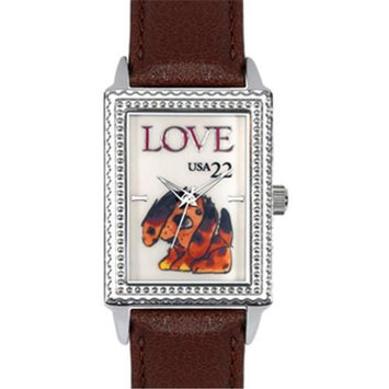 Arjang & Co PS-3004S-DB Puppy Love Rectangular
