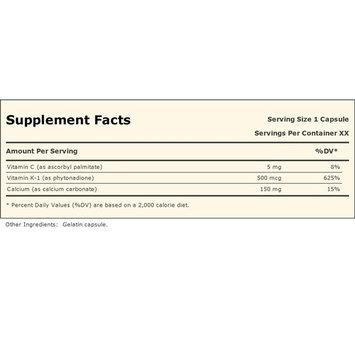 Vitamin K-500 180 Capsules