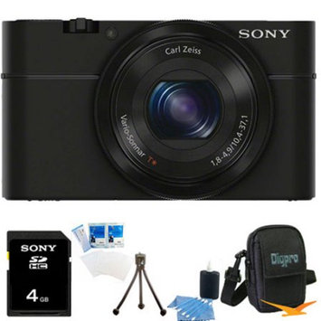 Sony DSC-RX100 20.2 Megapixel, 3.6x zoom, 4GB Bundle