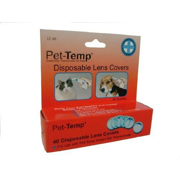 Pet-Temp Ear Thermometer Repl Lens Covers
