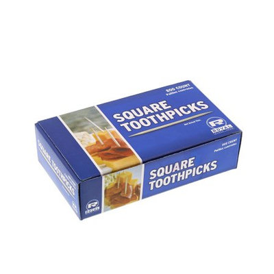 Royal Square Toothpicks, Pack of 800, R820SQ