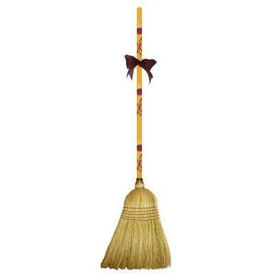 Cute Tools Garden Broom - Landscaping Instrument, Sweep and Dust With This Garden Accessory, Hand Painted Wooden Broomstick In The USA, Durable Yard and Gardening Equipment From CuteTools! - Art For A Cause, Honduran Coffee Cup