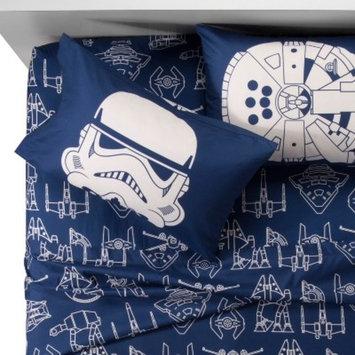 Star Wars® Blue & White Sheet Set