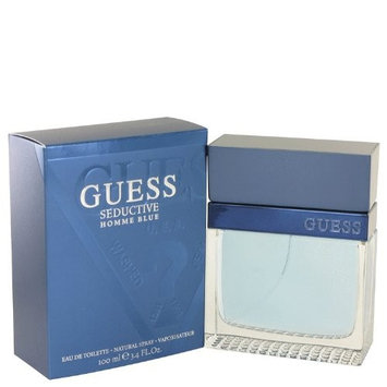 GUESS Blue Seductive Eau De Toilettes Spray for Men, 3.4 Ounce
