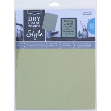Crescent Cardboard Co Color Notes Dry Erase Board, 8' x 10', Sage