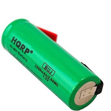 HQRP Battery for Braun 6518 6522 6620 6680 7475 Shaver Repair + HQRP Coaster
