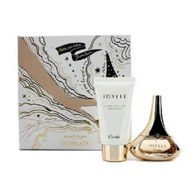 IDYLLE Guerlain 1.2 oz EDP Spray Womens Perfume + 2.5 oz Lotion gift Set NEW NIB