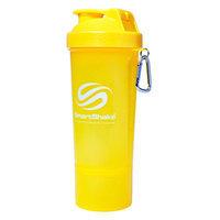 SmartShake Slim Neon Yellow 500 mL 17 oz