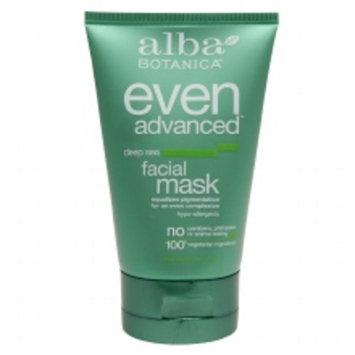 Alba Botanica Even Advanced Facial Mask Deep Sea 4.0oz.