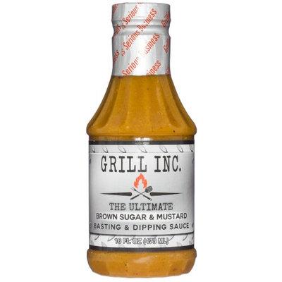Grill Inc. BROWN SUGAR & MUSTARD BASTING SAUCE