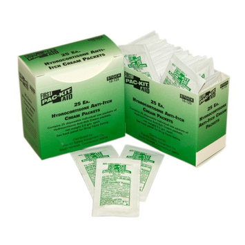 Pac-Kit by First Aid Only 18-125 Hydrocortisone Cream Packet - (2 Boxes)