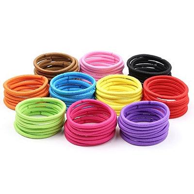 Yigou 4mm Women Elastic Bands Hair Ties100 pieces