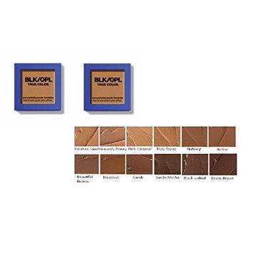 [ trending PACK OF 2] BLACK OPAL TRUE COLOR PORE PERFECTING POWDER FOUNDATION #BLACK WALNUT : Beauty