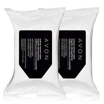 Avon Ready for Take Off Duo Makeup Remover Wipes Lot of 2