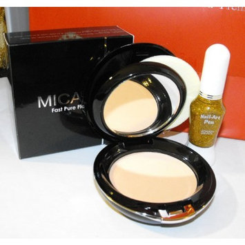 Mica Beauty Mineral Makeup Pressed Foundation Mf-6 Cream Caramel