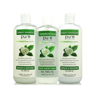 PURE Tea Tree Oil Moisturizing Hair Conditioner 26.5 oz Sulfate & Paraben Free. All Hair Types Women Men & Teens Safe for Color Treated Hair