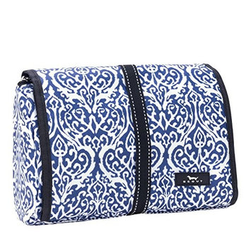 SCOUT Beauty Burrito Hanging Toiletry & Cosmetic Bag, Elastic Band Closure, Water Resistant, Royal Highness