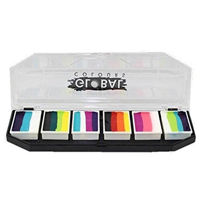 Global Body Art Face Paint - FunStroke Palette Rainbow Burst
