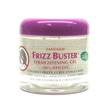 Fantasia Frizz Buster Straightening Gel 16 oz. (3-Pack) with Free Nail File